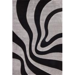 Kusový koberec Lambada LAM 452 black-silver