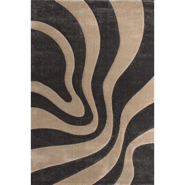 Lalee koberce Kusový koberec Lambada LAM 452 platin-beige, koberců 80x150 cm Hnědá - Vrácení do 1 roku ZDARMA