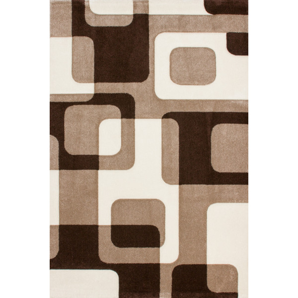 Lalee koberce Kusový koberec Lambada LAM 463 mocca-beige, 80x150 cm% Hnědá - Vrácení do 1 roku ZDARMA vč. dopravy
