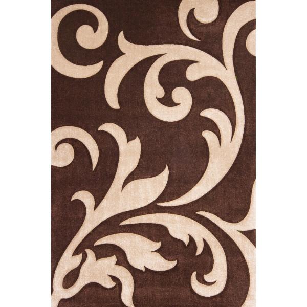 Lalee koberce Kusový koberec Lambada LAM 451 mocca-beige, 80x150 cm% Hnědá - Vrácení do 1 roku ZDARMA vč. dopravy