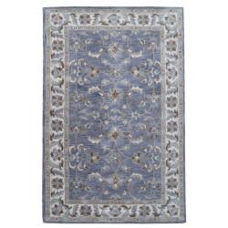Ručně všívaný vlněný koberec DOO-1
