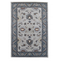Ručně všívaný vlněný koberec DOO-3