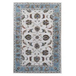 Ručně všívaný vlněný koberec DOO-4