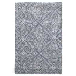 Ručně všívaný vlněný koberec DOO-7