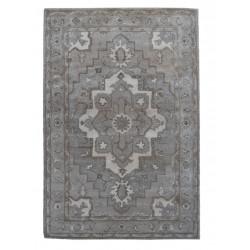 Ručně všívaný vlněný koberec DOO-9