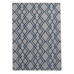 Ručně všívaný vlněný koberec DOO-13