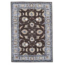 Ručně všívaný vlněný koberec DOO-14