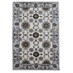 Ručně všívaný vlněný koberec DOO-16