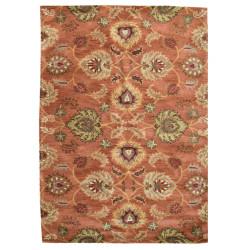 Ručně všívaný vlněný koberec DOO-17