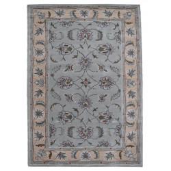 Ručně všívaný vlněný koberec DOO-18