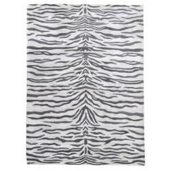 Ručně všívaný vlněný koberec DOO-19