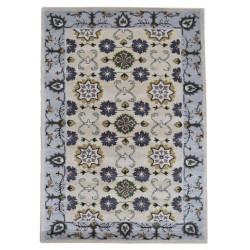 Ručně všívaný vlněný koberec DOO-21
