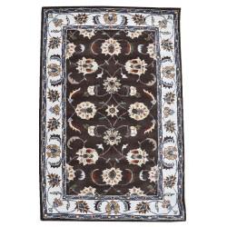 Ručně všívaný vlněný koberec DOO-24