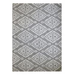 Ručně všívaný vlněný koberec DOO-25