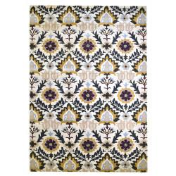 Ručně všívaný vlněný koberec DOO-26