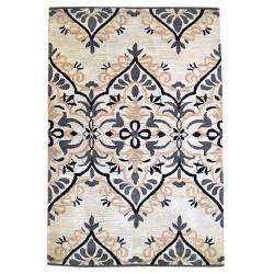 Ručně všívaný vlněný koberec DOO-27