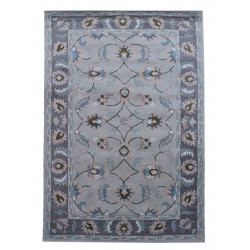 Ručně všívaný vlněný koberec DOO-28