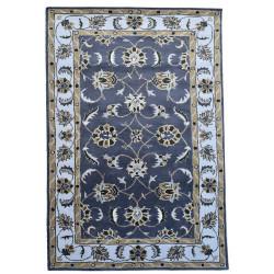 Ručně všívaný vlněný koberec DOO-29