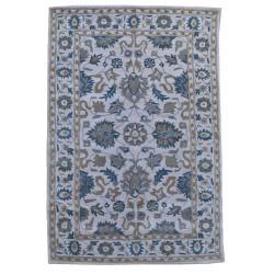 Ručně všívaný vlněný koberec DOO-32