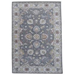 Ručně všívaný vlněný koberec DOO-35