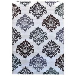 Ručně všívaný vlněný koberec DOO-36
