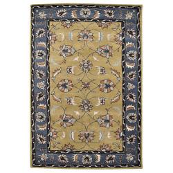 Ručně všívaný vlněný koberec DOO-38