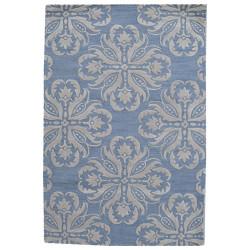 Ručně všívaný vlněný koberec DOO-39