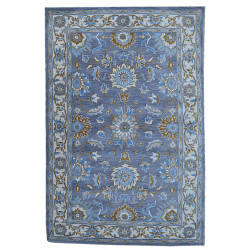 Ručně všívaný vlněný koberec DOO-40