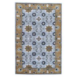 Ručně všívaný vlněný koberec DOO-41
