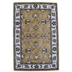 Ručně všívaný vlněný koberec DOO-43