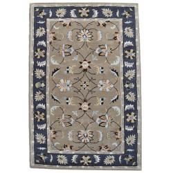 Ručně všívaný vlněný koberec DOO-44