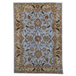 Ručně všívaný vlněný koberec DOO-45