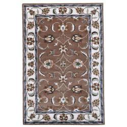 Ručně všívaný vlněný koberec DOO-46