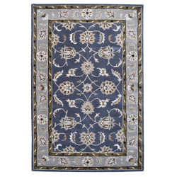 Ručně všívaný vlněný koberec DOO-47