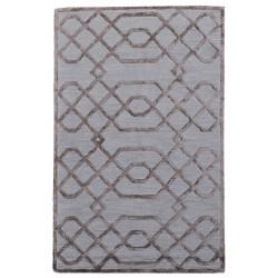 Ručně všívaný vlněný koberec DOO-48