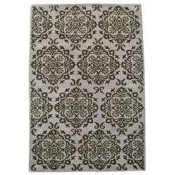 Ručně všívaný vlněný koberec DOO-50