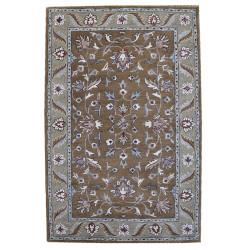Ručně všívaný vlněný koberec DOO-52