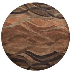 Ručně všívaný vlněný koberec DOO-56