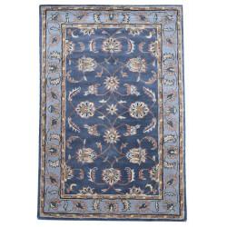 Ručně všívaný vlněný koberec DOO-61