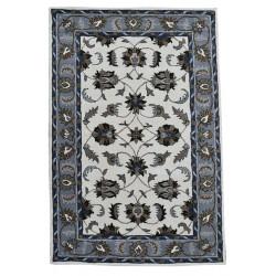 Ručně všívaný vlněný koberec DOO-67