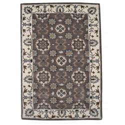 Ručně všívaný vlněný koberec DOO-71