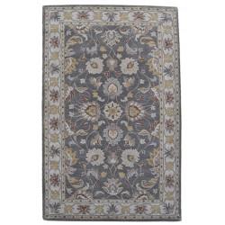 Ručně všívaný vlněný koberec DOO-73
