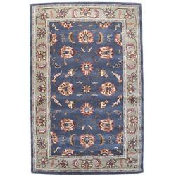 Ručně všívaný vlněný koberec DOO-74