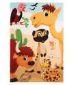 Dětský kusový koberec Juno 470 Savannah