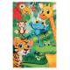 Dětský kusový koberec Juno 471 Jungle