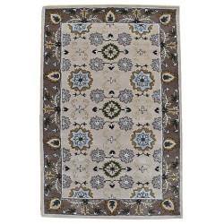 Ručně všívaný vlněný koberec DOO-76