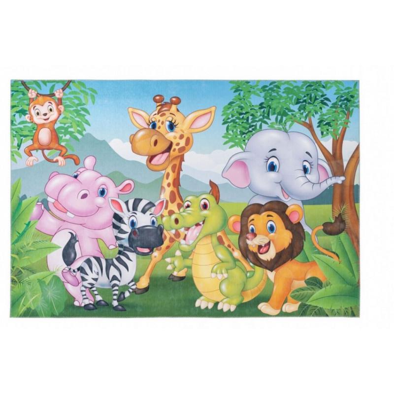 Dětský kusový koberec Torino kids 239 JUNGLE