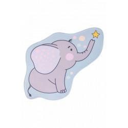 Dětský kusový koberec Mila kids 151 elephant