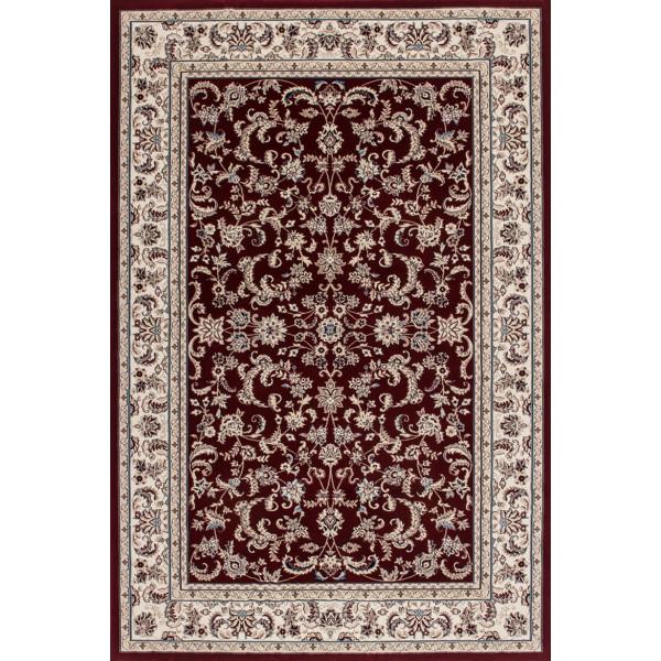 Lalee koberce Kusový koberec Mashad MAS 131 red, koberců 200x290 cm Červená, Béžová - Vrácení do 1 roku ZDARMA
