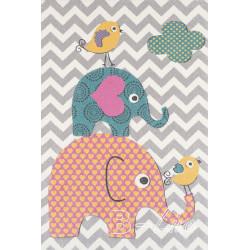 Dětský kusový koberec Pastel Kids 48/SVS